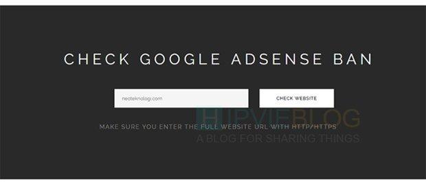 Cek Status Sandbox Google Adsense
