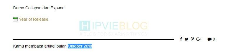 Trik PHP dan CSS Blog WordPress date