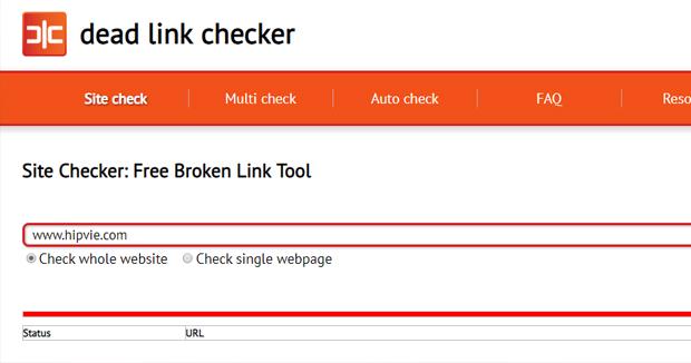 Cara cek dead link website bisnis