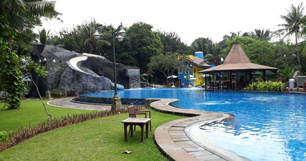 Kolam Renang Raffles Hills, Cibubur – Bersih dan Fun