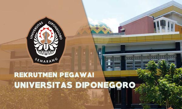 Rekrutmen Pegawai UNDIP [Tenaga Dosen/Non PNS] Tahun 2019