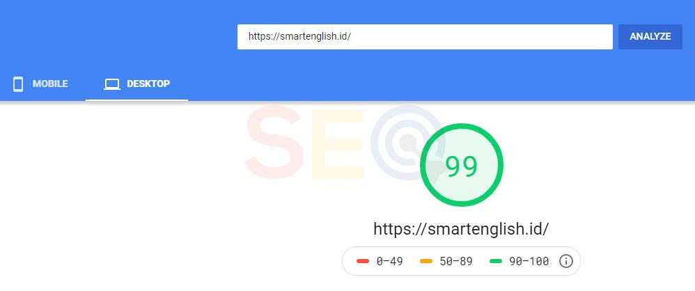 load speed via google