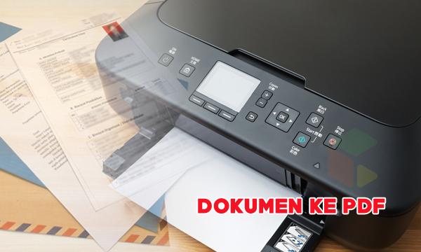 Cara Scan Dokumen ke Pdf [Format JPG to PDF] Secara Online