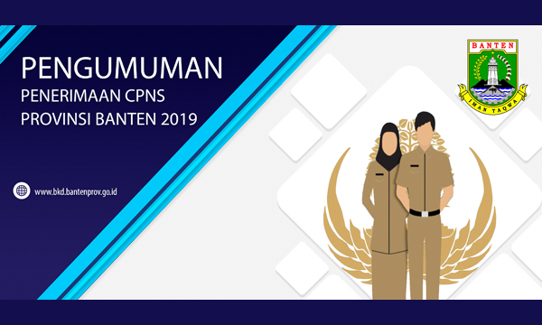 Daftar Lengkap Formasi CPNS Provinsi Banten Tahun 2019