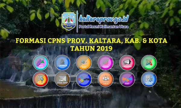 Daftar Lengkap Formasi CPNS Provinsi Kalimantan Utara 2019