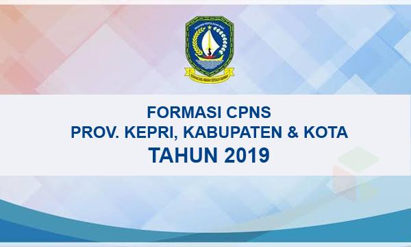 Daftar lengkap formasi CPNS Provinsi Kepulauan Riau (KEPRI)