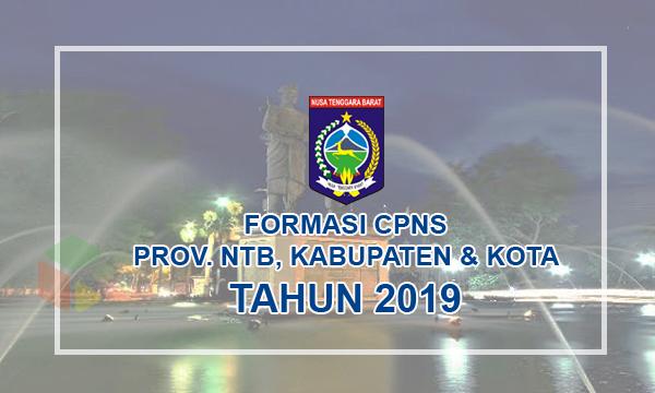Daftar Lengkap Formasi CPNS Provinsi Nusa Tenggara Barat Tahun 2019