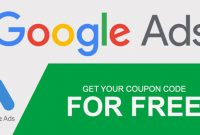 Free Google Ads Promotional Coupon Code
