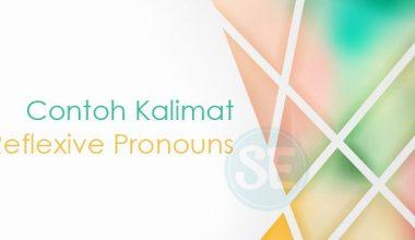 Contoh Soal Reflexive Pronouns