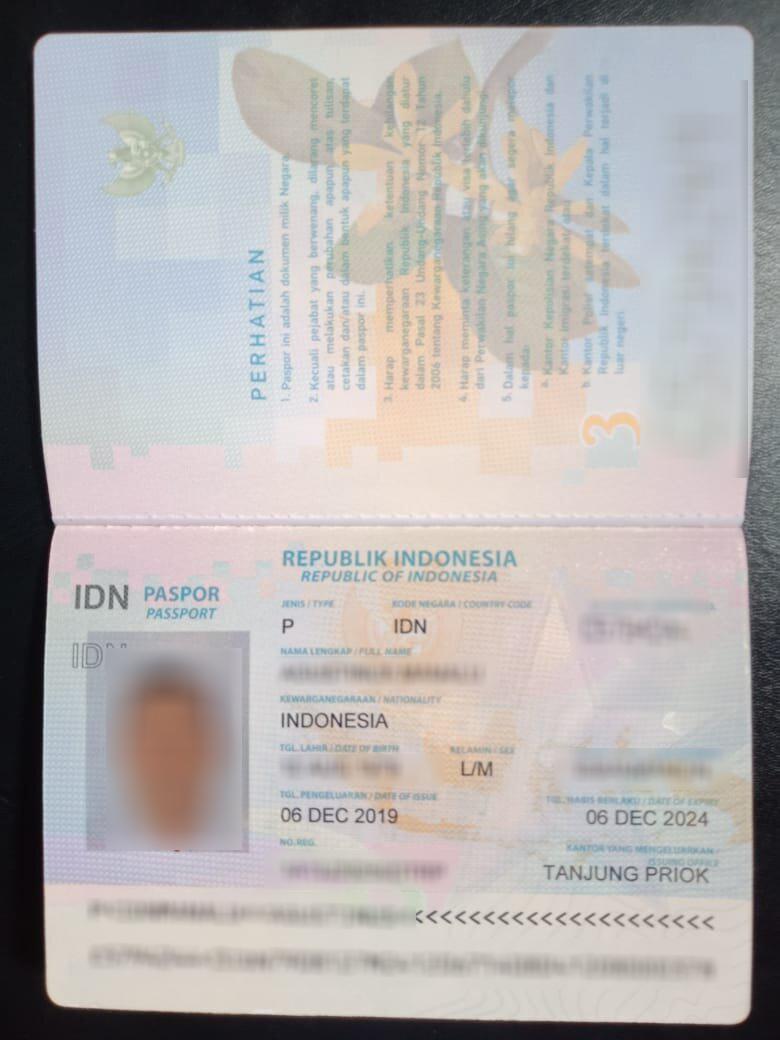 Cara verifikasi Google Adsense Menggunakan Passport scan2