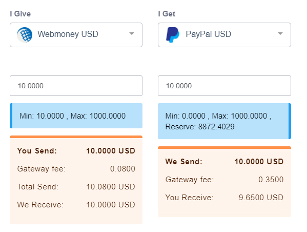 proses transfer webmoney to paypal