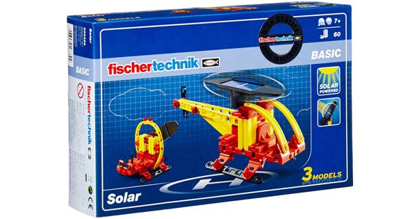 Fischertechnik Basic Solar mainan stem buat anak-anak jadi pintar