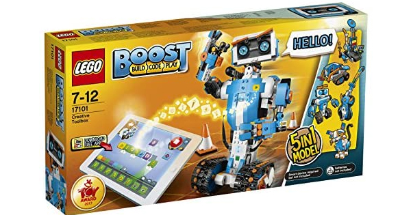 Lego Boost Creative Toolbox Building & Coding Kit