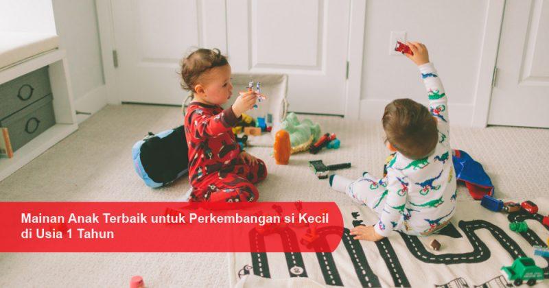 Mainan Anak Terbaik untuk Perkembangan si Kecil di Usia 1 Tahun