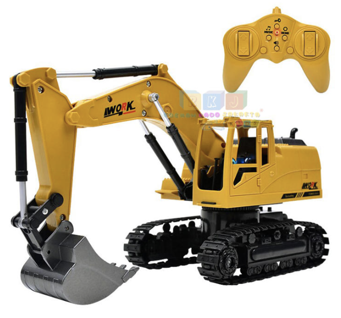 Mainan Excavator Beko, Buat Si Boy Remote Control Body Muter (Review) display