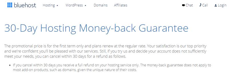 Review Hosting Bluehost [Hosting si Biru, Stabil dan Handal] garansi uang kembali