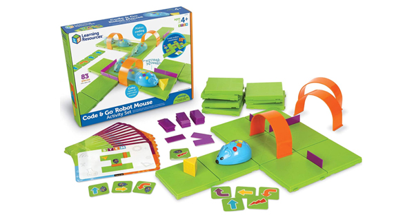 STEM Learning Resources Code And Go Robot Mouse Activity Set