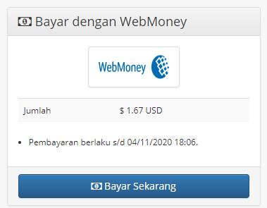 bayar webmoney ke ovo