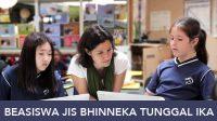 Beasiswa JIS Bhinneka Tunggal Ika