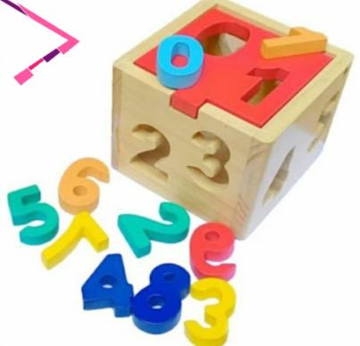 boks angka dan huruf