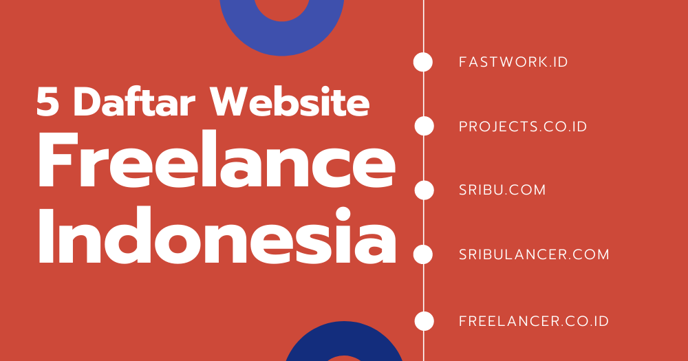 5 Daftar Website Freelance Indonesia Untuk Segala Kebutuhanmu